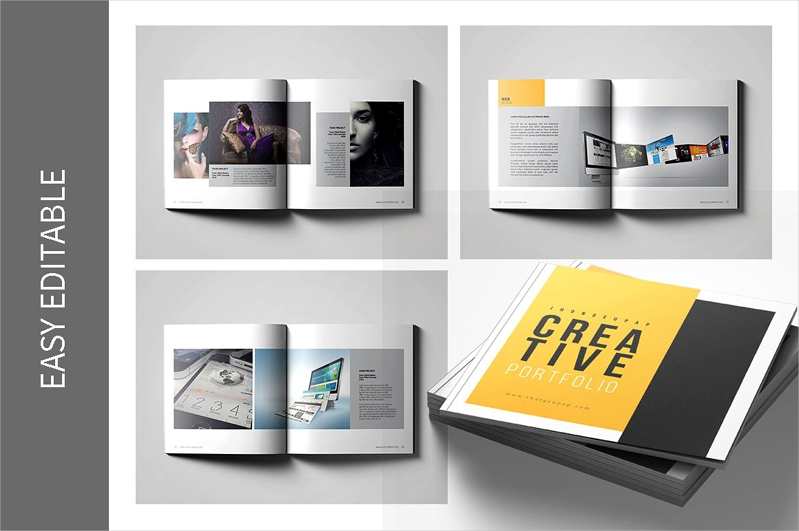 9+ Graphic Design Portfolio Examples - Editable PSD, AI, InDesign