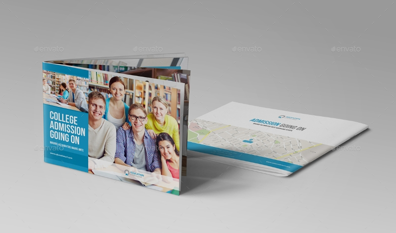 education prospectus brochure design
