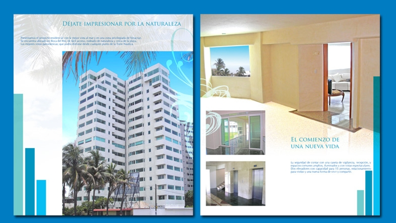 elegant apartment brochure