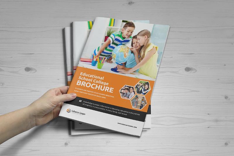elegant college university brochure
