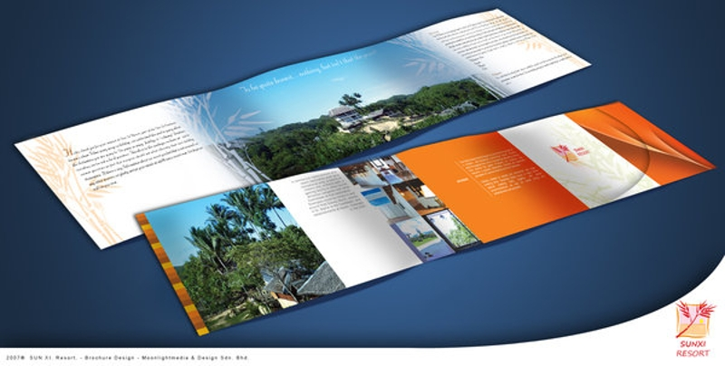 elegant resort brochure