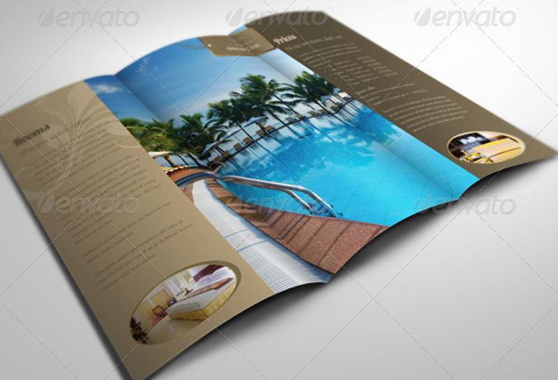elegant trifold brochure