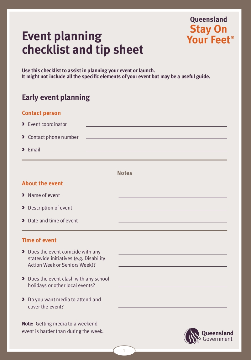 event planning checklist sample in pdf1