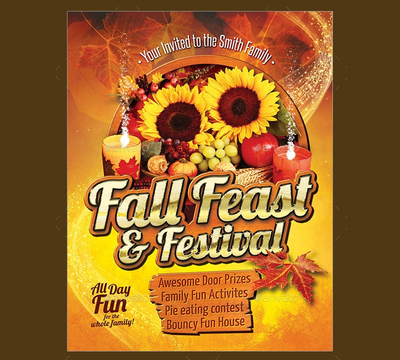 fall feast invitation