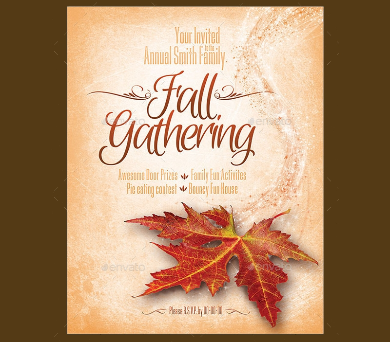 fall gathering invitation1