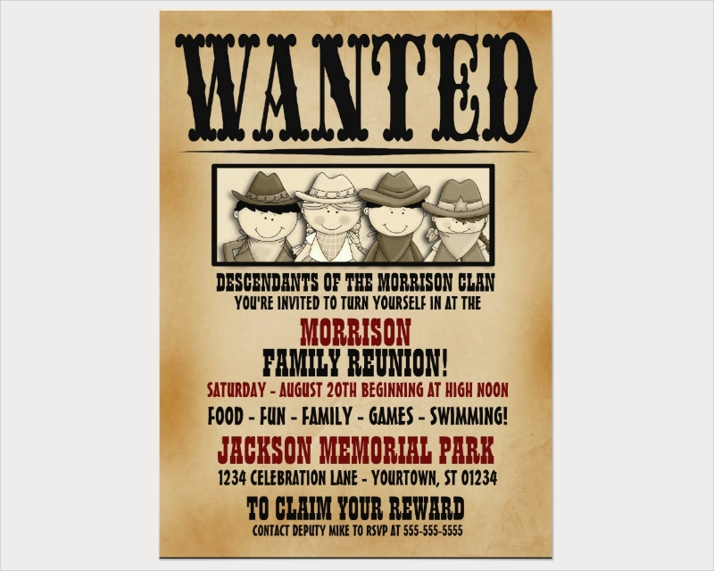 family reunion barbeque invitation