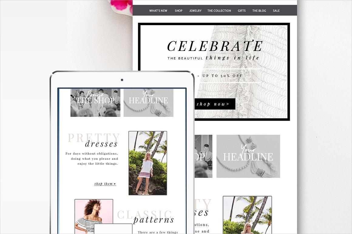 fashion e commerce email branding
