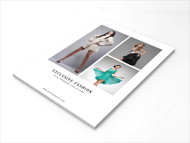 fashion product brochure
