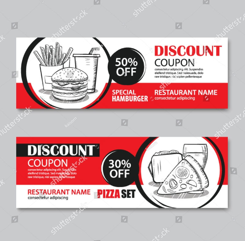 fast food discount coupon