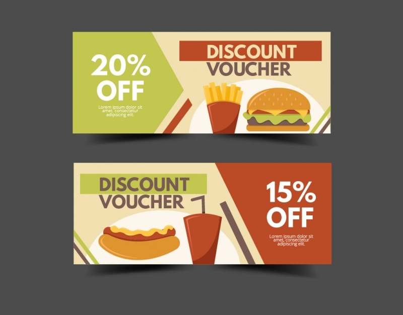 fast food gift voucher