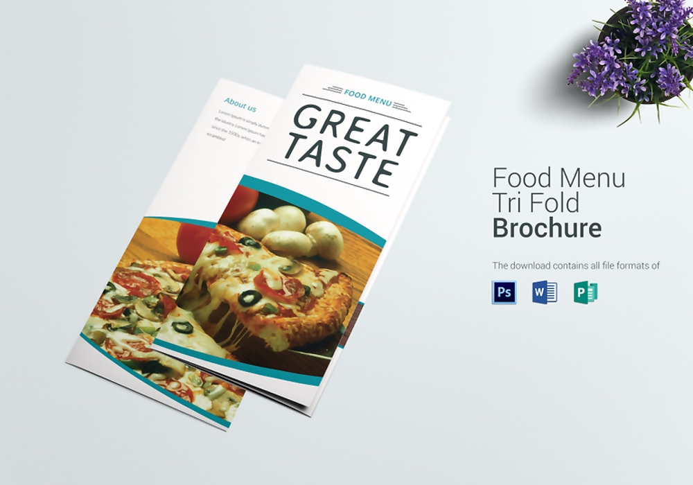 food menu trifold1 767x537