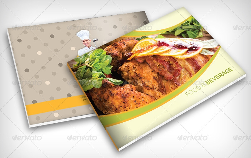 food recipe brochure