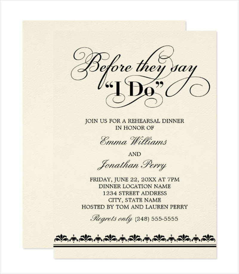 formal wedding dinner invitation1