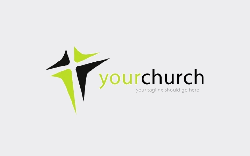 free church vector logo