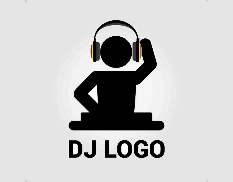 free dj logo