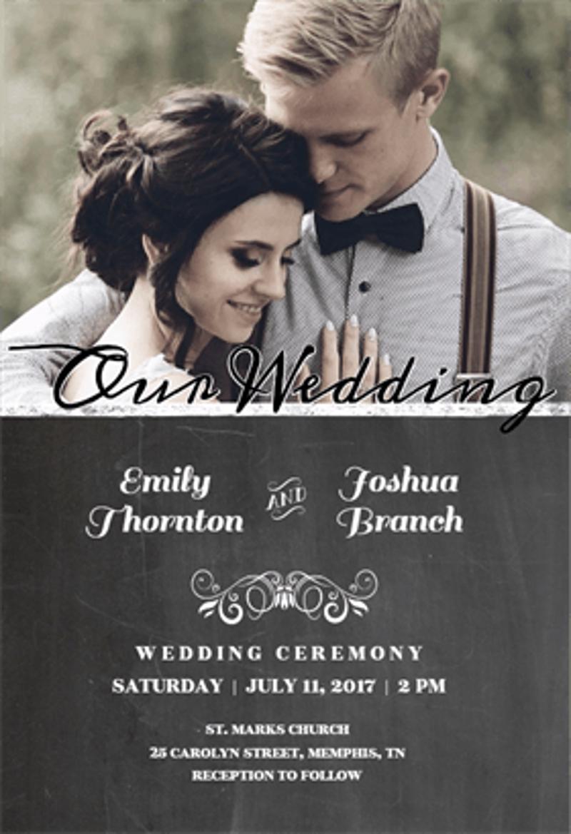 free photo wedding invitation