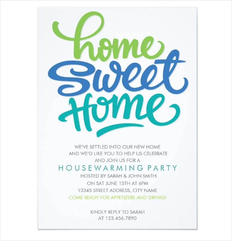 fun housewarming party invitation