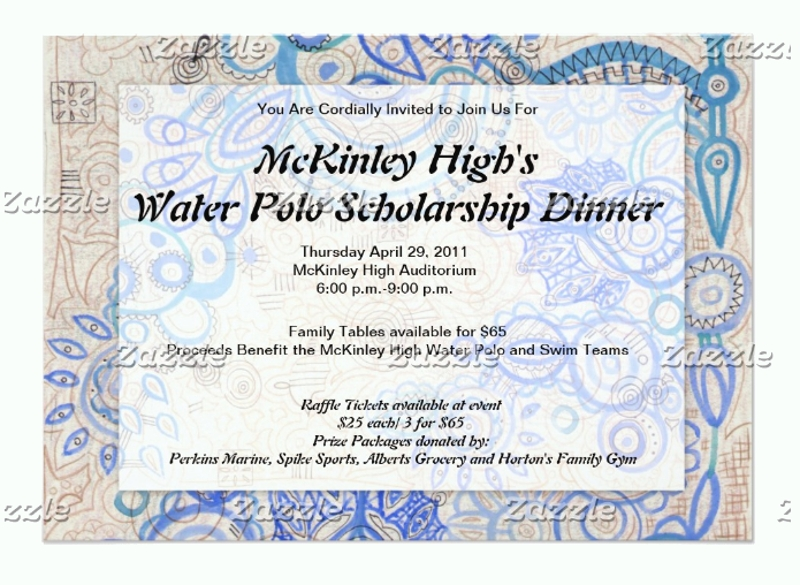 fundraiser business luncheon invitation