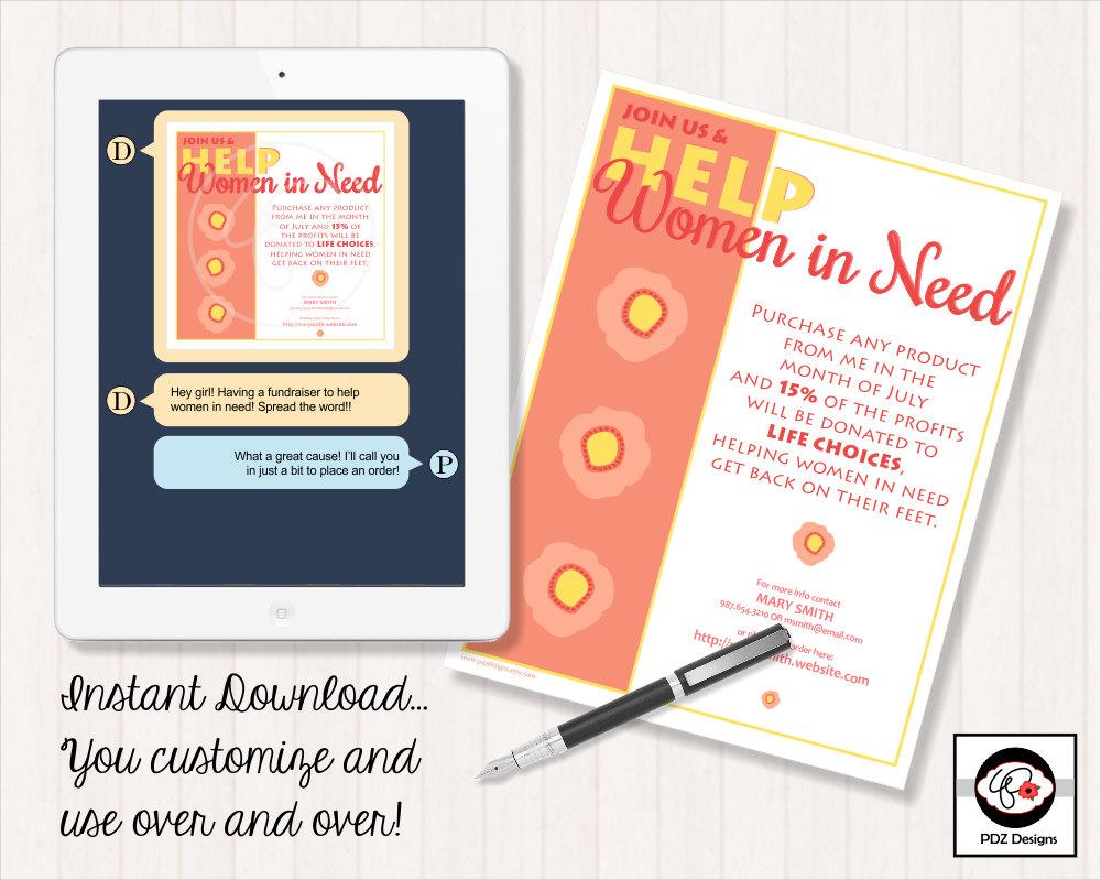 fundraiser flyer invitation