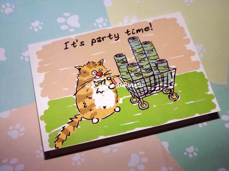 funny party invitation card design