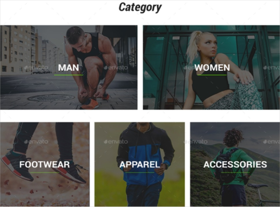g sport fashion e commerce portfolio