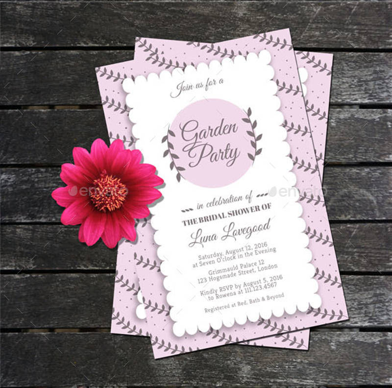 garden party bridal shower invitation1