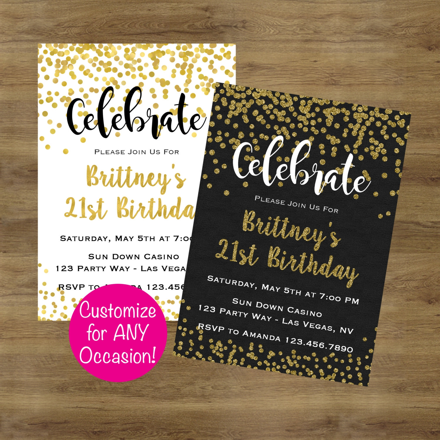 16 adult party invitation designs and examples psd ai gold adult birthday invitation filmwisefo