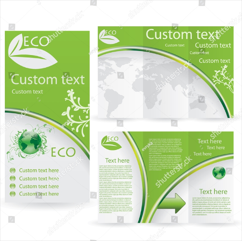 green environmental design template