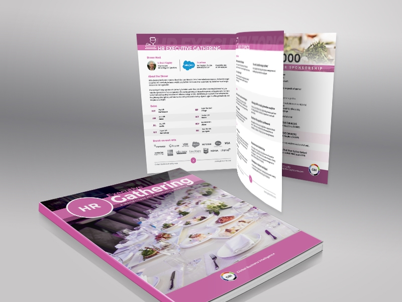 hr event brochure