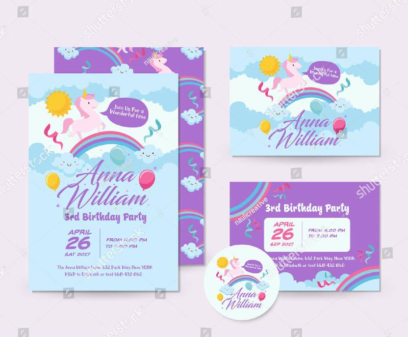 happy birthday surprise invitation card