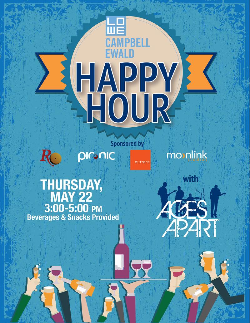 happy hour party invitation