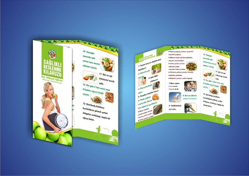 health brochure design template