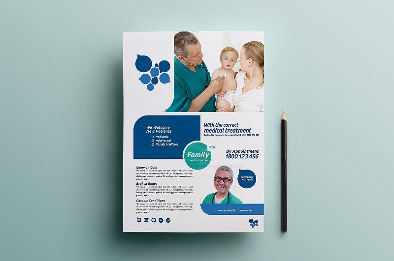 health care brochure template