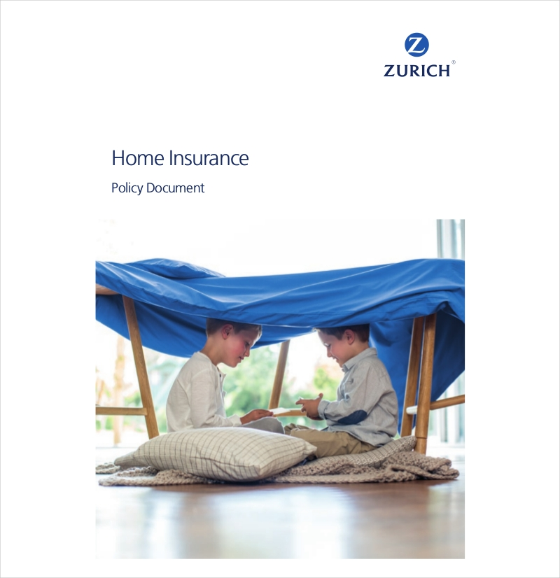 home insurance policy document