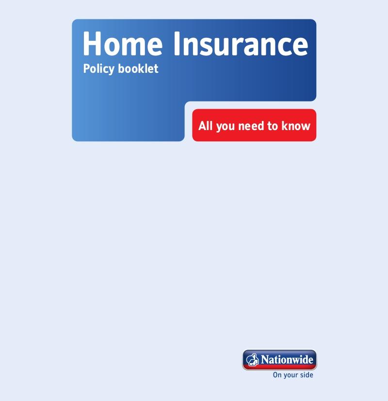 home insurane policy booklet