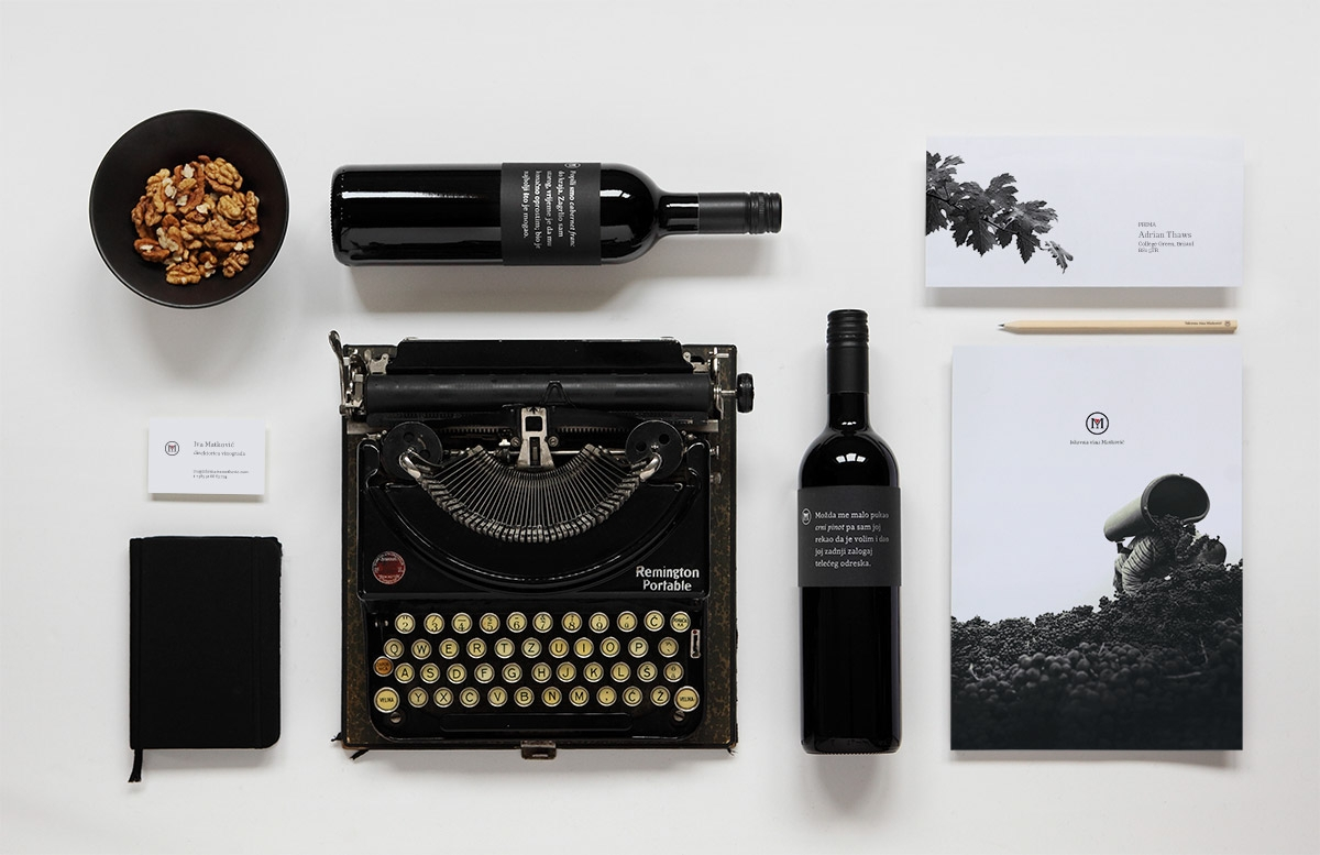 honest wine branding