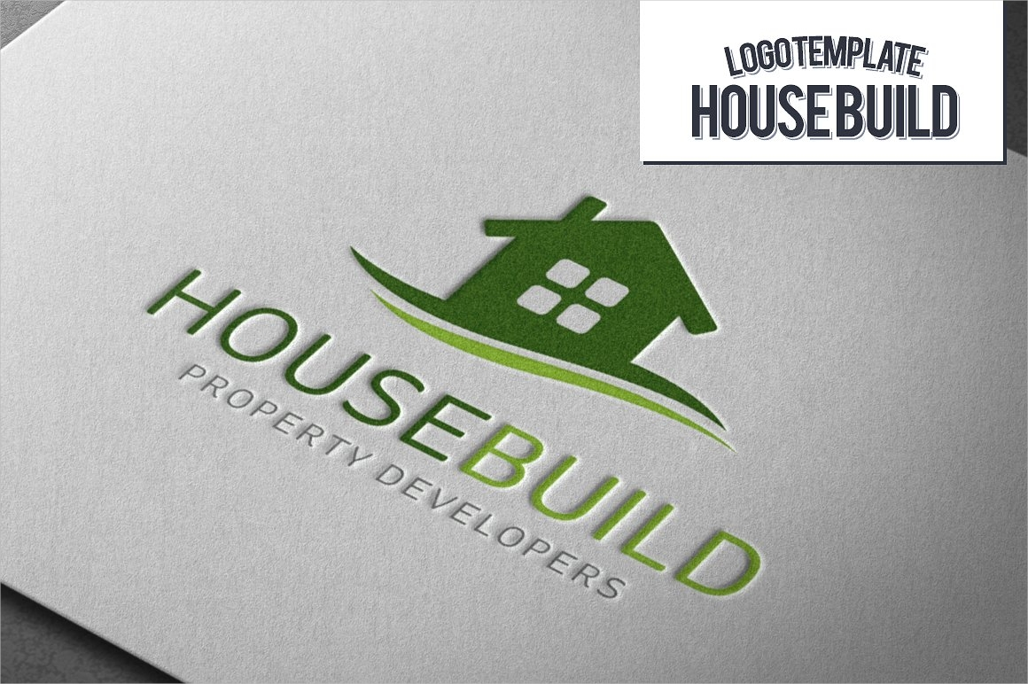 house build logo