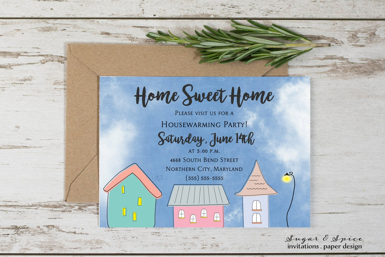housewarming invitation design