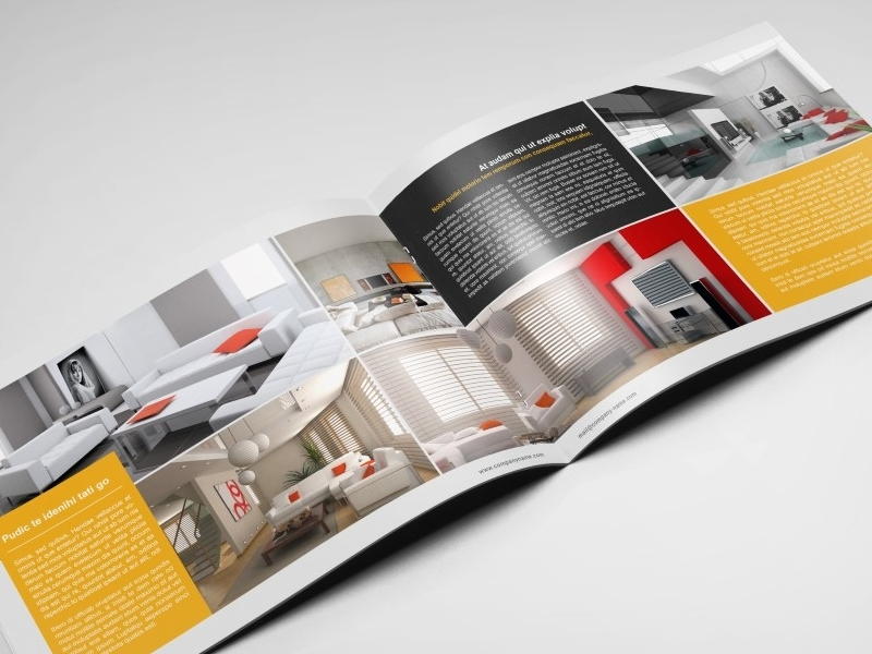 interior landscape brochure design