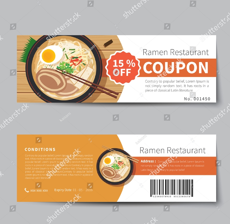 japanese food coupon