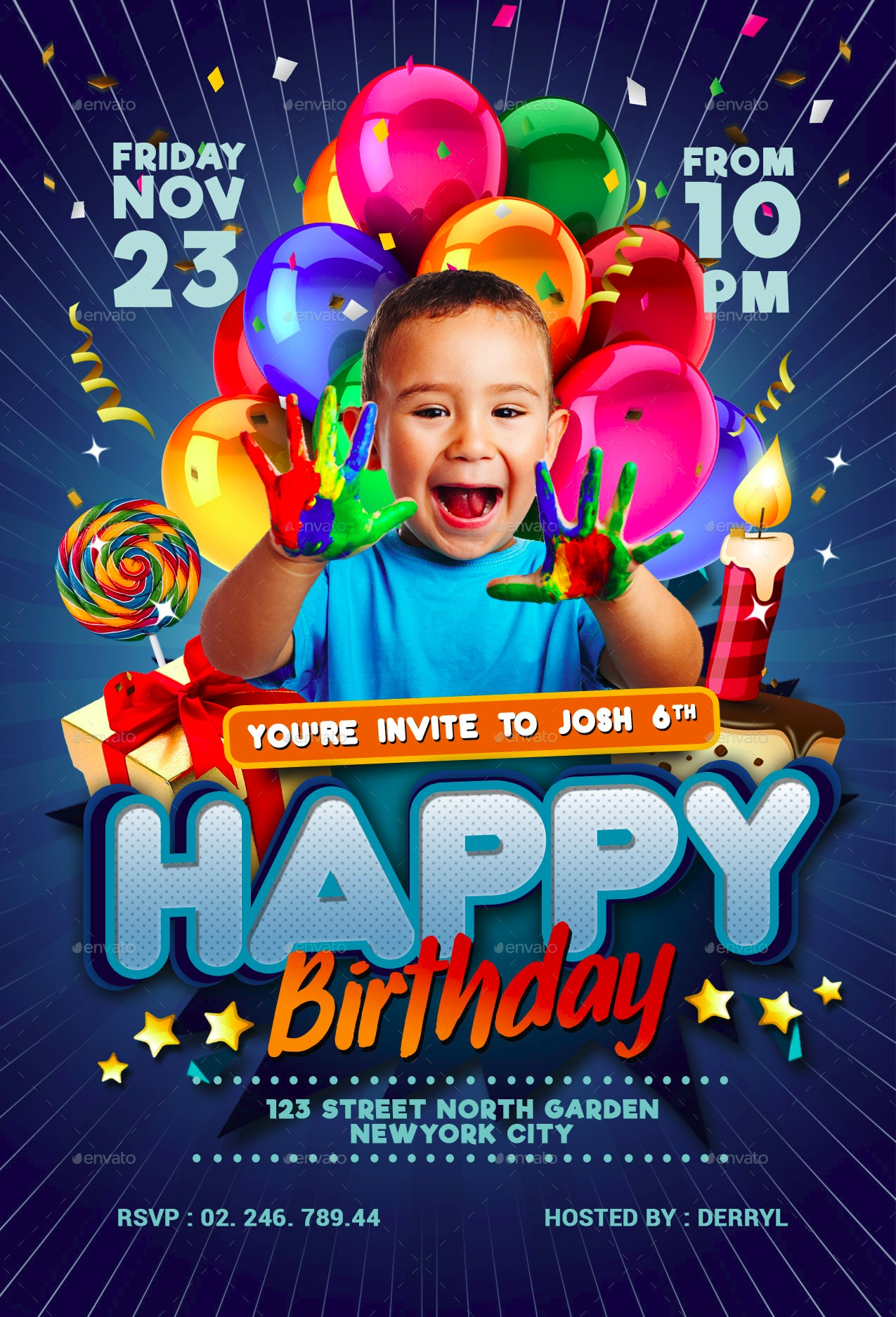 kids birthday invitation3