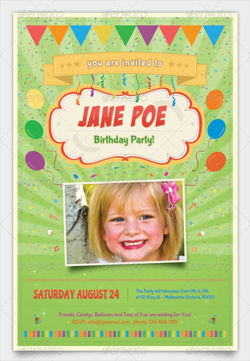 kids birthday party invitation3