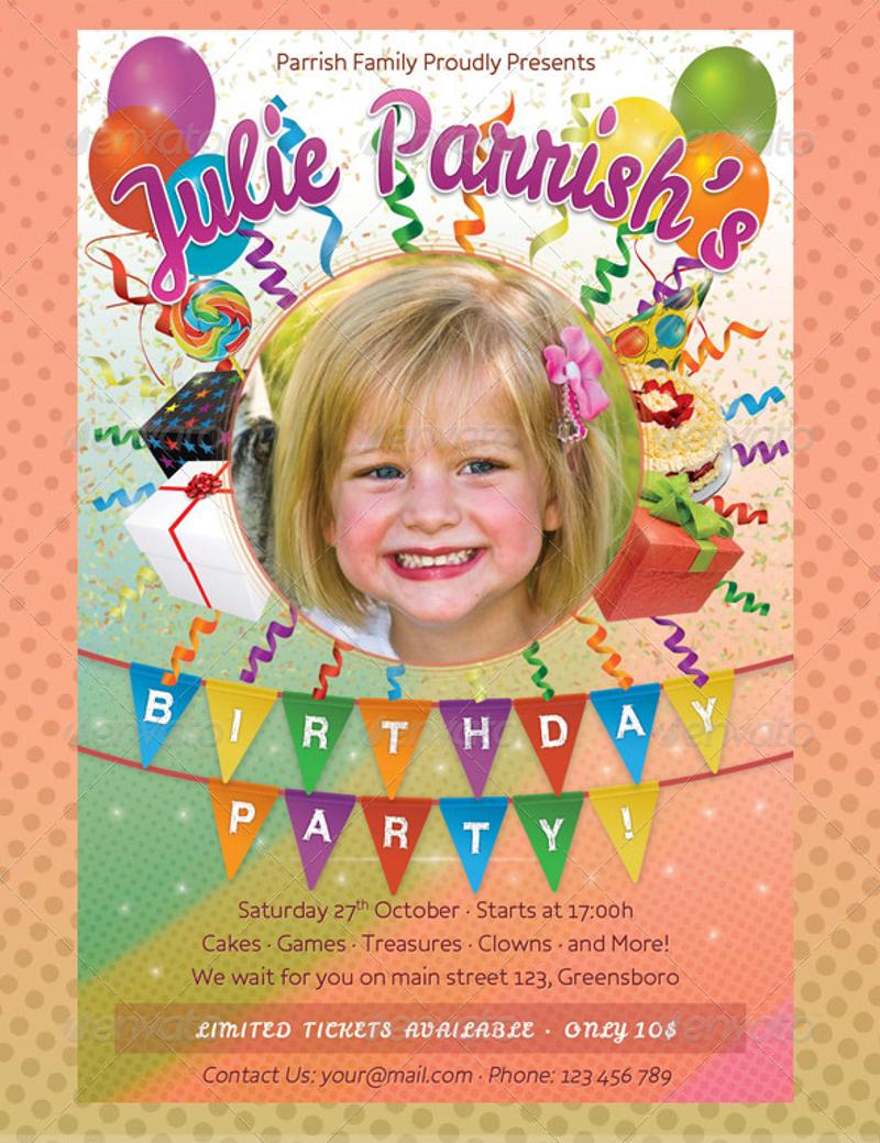 kids birthday party invitation5