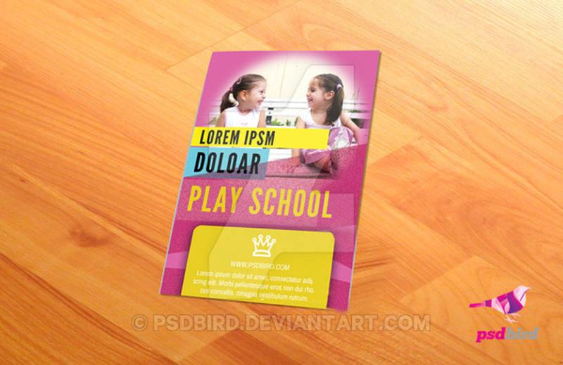 kindergarten school brochure