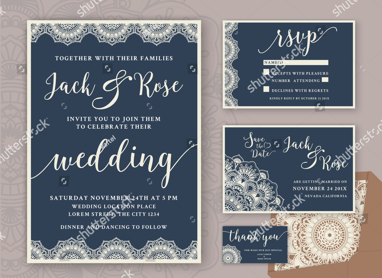 luxury wedding invitation1