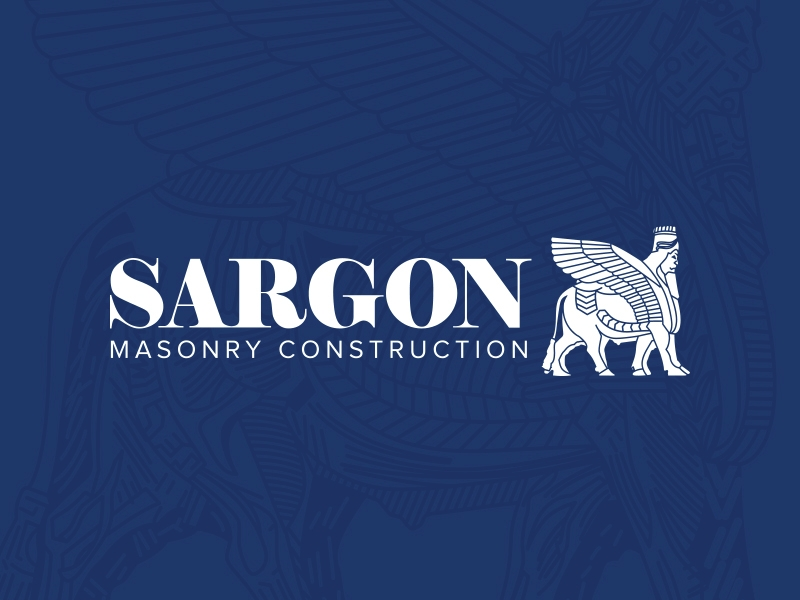masonry construction logo