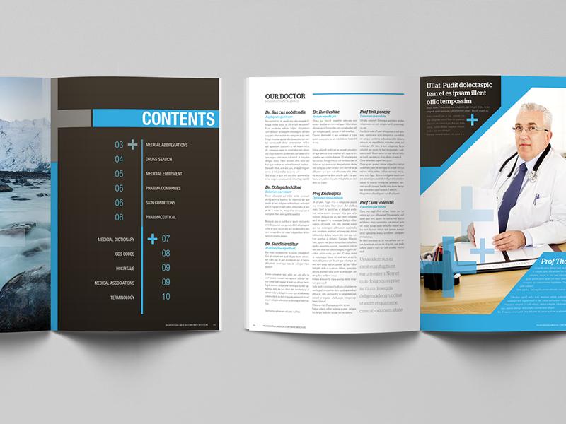 medical corporate brochure