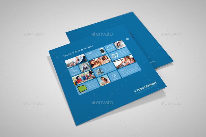 metro tri fold sales brochure