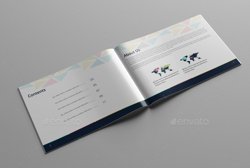 minimal multipurpose brochure