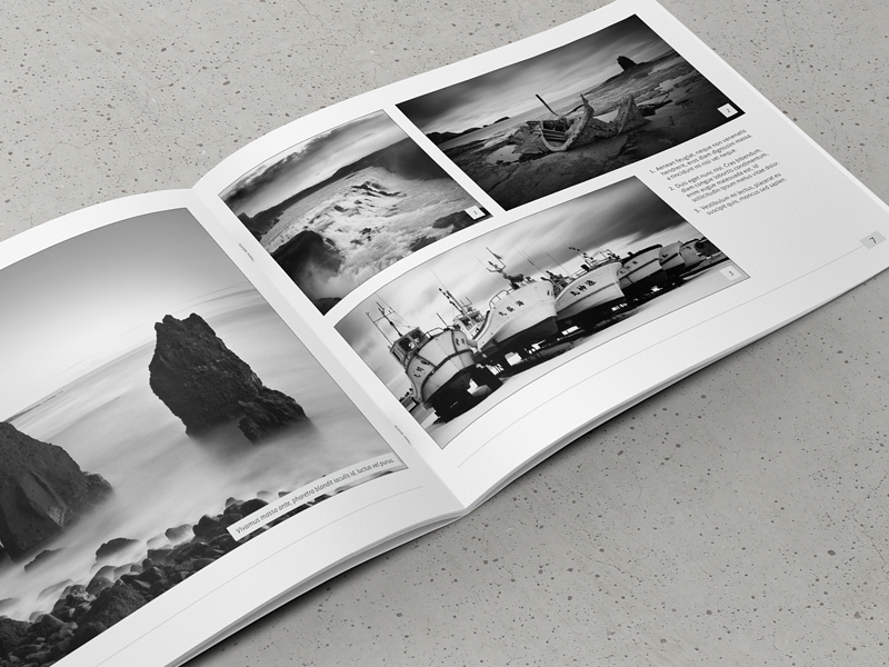 minimal photography portfolio
